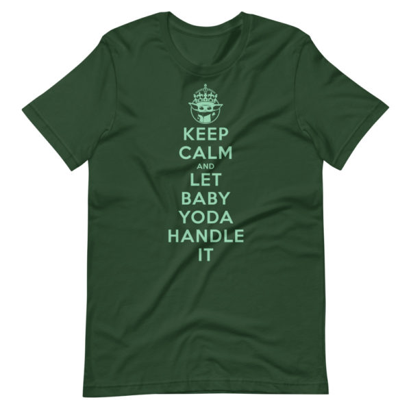 Keep calm and let baby Yoda handle it 1