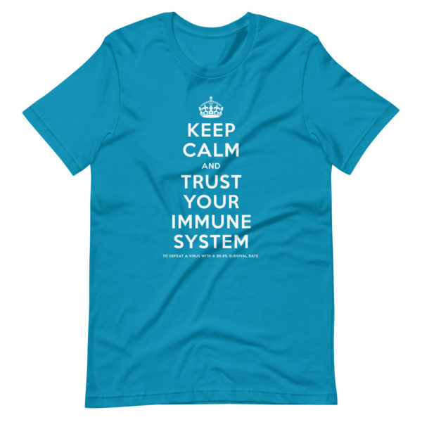 Keep calm and trust your immune system 5