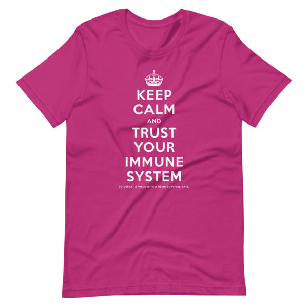 Keep calm and trust your immune system 4