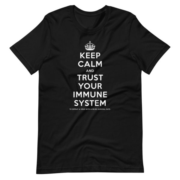 Keep calm and trust your immune system 2