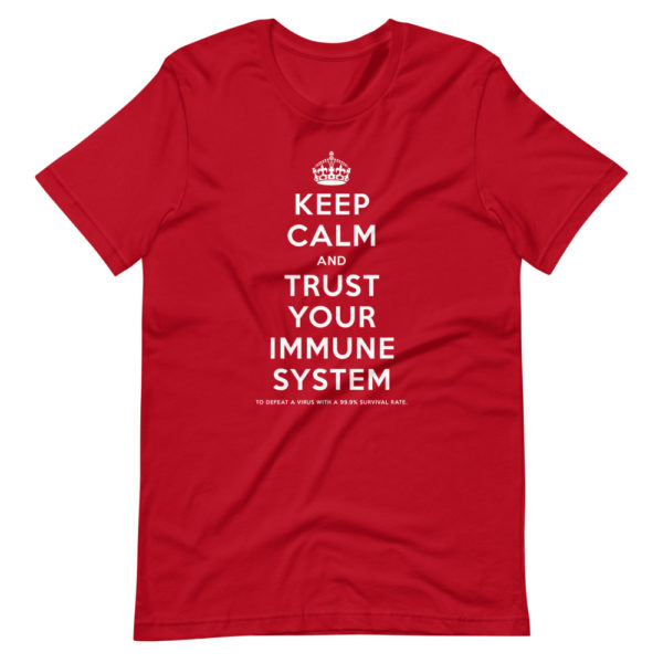Keep calm and trust your immune system 1
